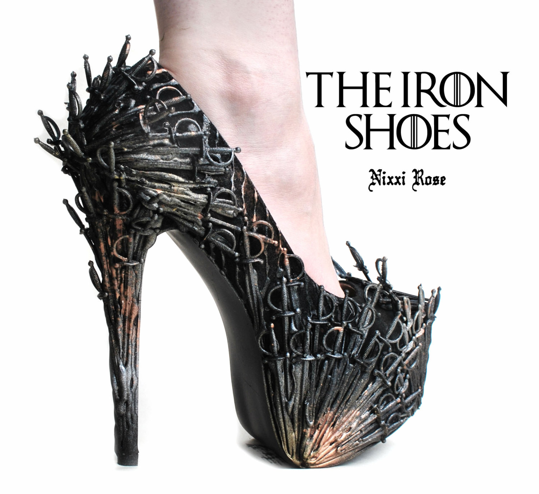 Making High Heel Shoes